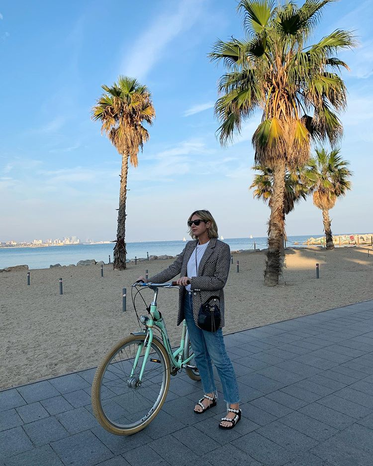 Bike rides in Barcelona on Emma Rose Style