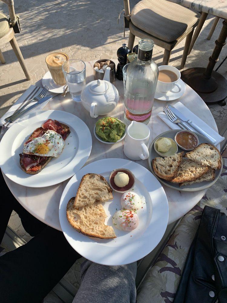 Breakfast at Soho House Barcelona on Emma Rose Style