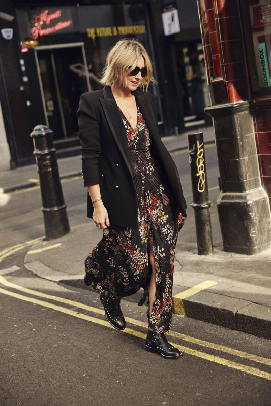 EMMA ROSE STYLE WEARING JIMMY CHOO BOOTS