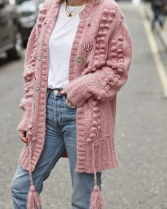 Hayley Menzies Knit on Emma Rose Style