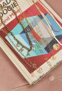 Chanel Vintage Necklace on Emma Rose Style