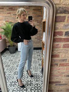 Emma Rose Style wearing Haight Bodysuit