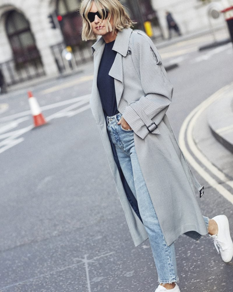 Topshop Trench Coat on Emma Rose Style