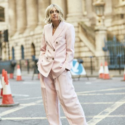 How To style a Pink Suit on Emma Rose Style