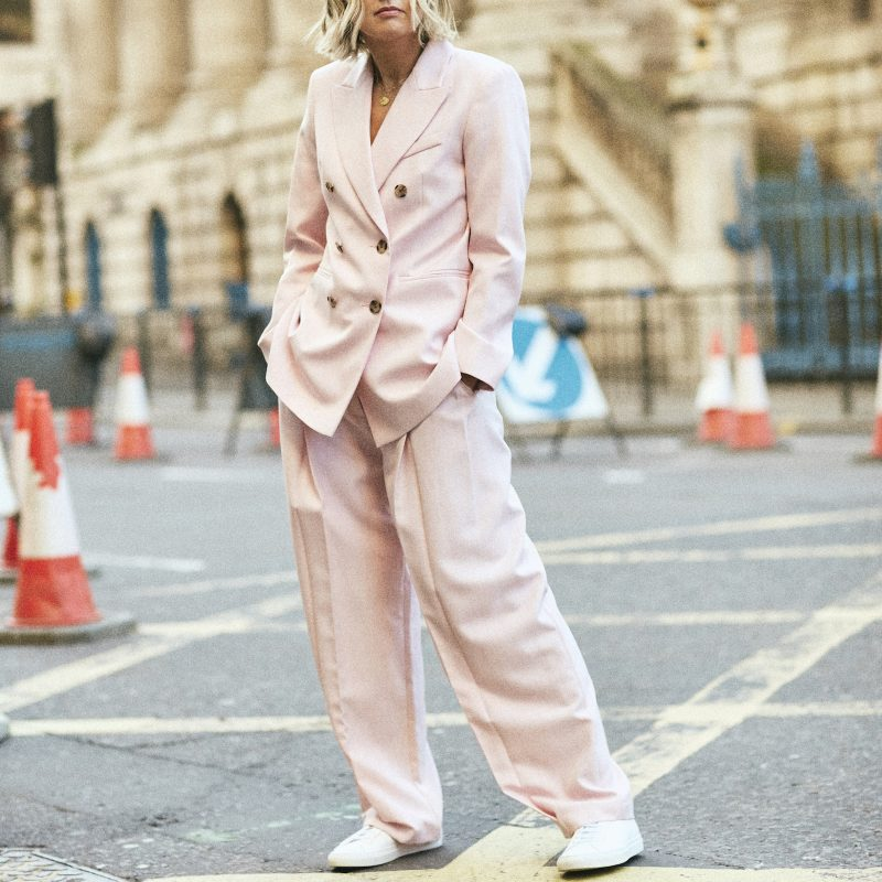 Pink Suit on Emma Rose Style