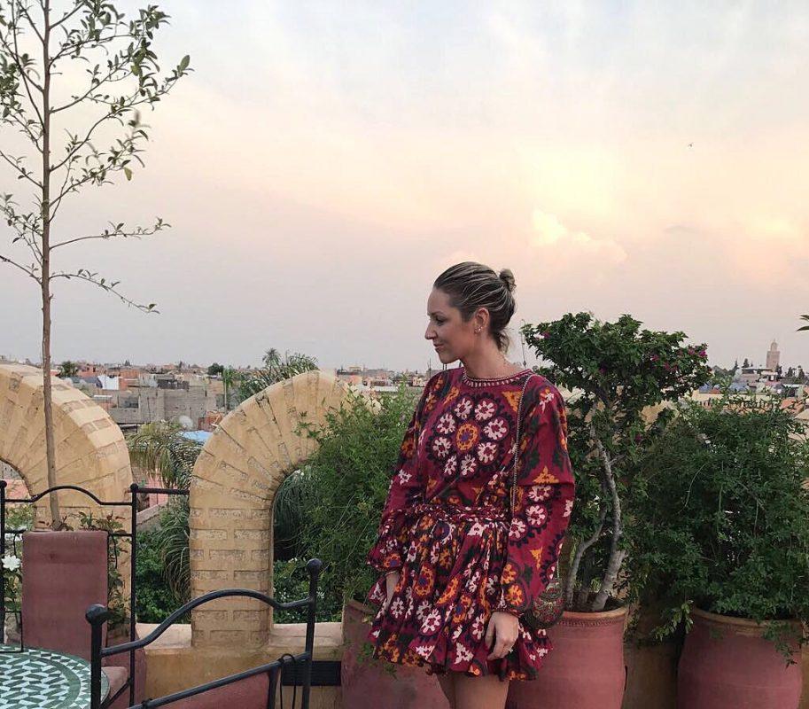 EMMA ROSE STYLE WEARING RHODE RESORT DRESS