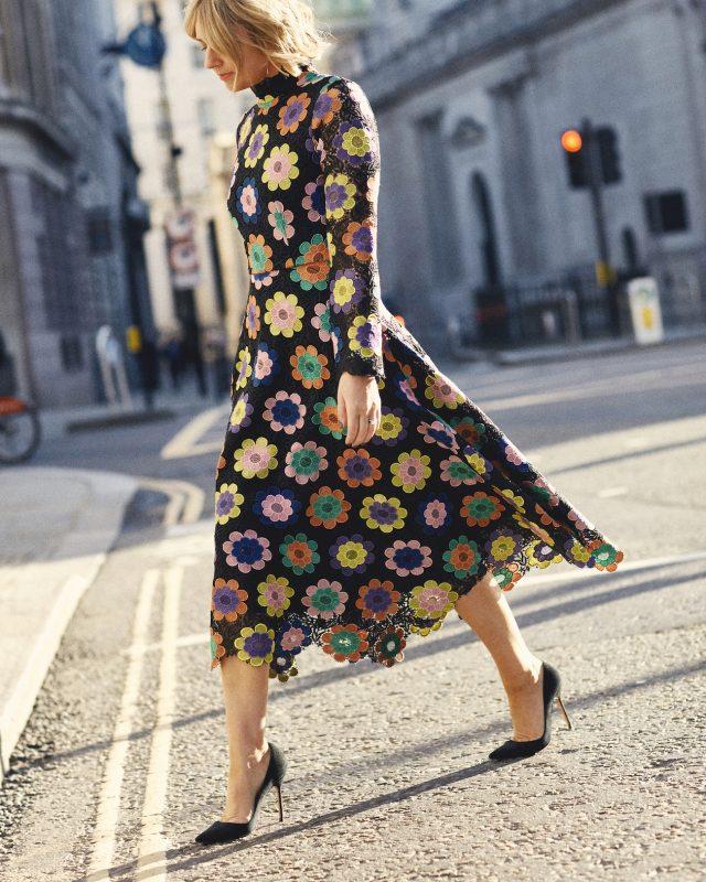Olivia Rubin Rainbow Dress on Emma Rose Style
