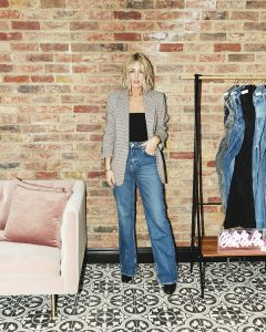 Topshop Celine Style Jeans on Emma Rose Style