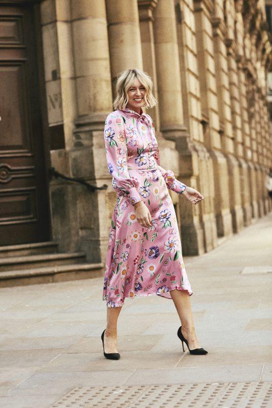 Pink Olivia Rubin Dress on Emma Rose Style