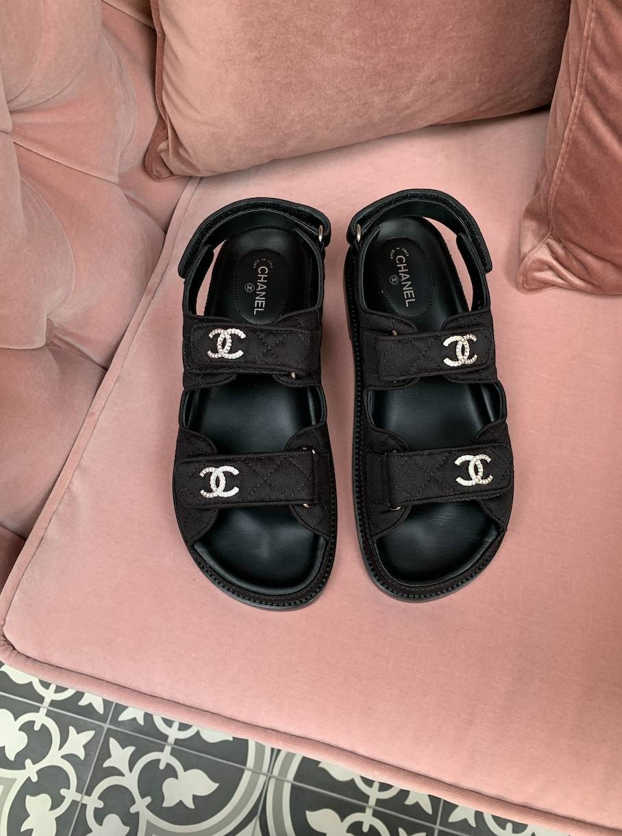Chanel Sandals And How To Style Fashion Emma Rose Style