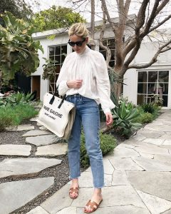The White Blouse Edit and how to style on Emma Rose Style