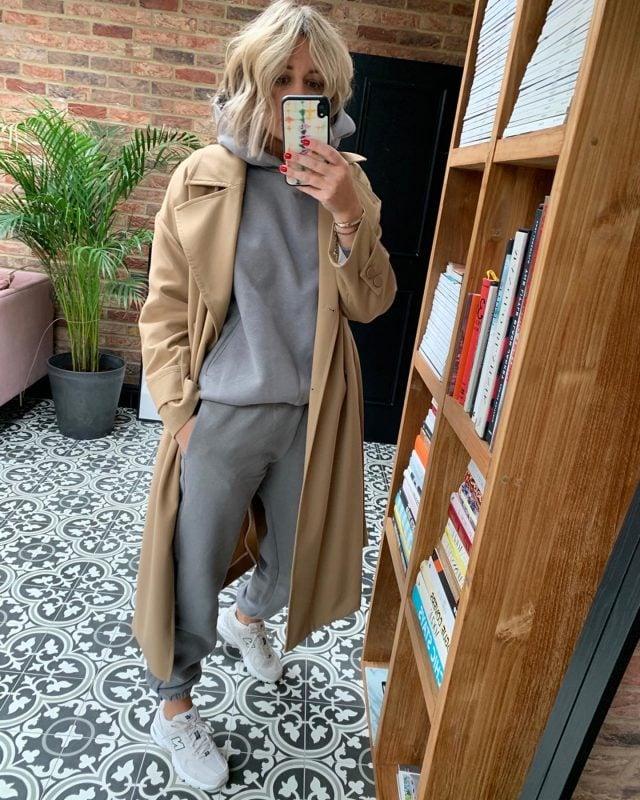 Pangaia Tracksuit on Emma Rose Style