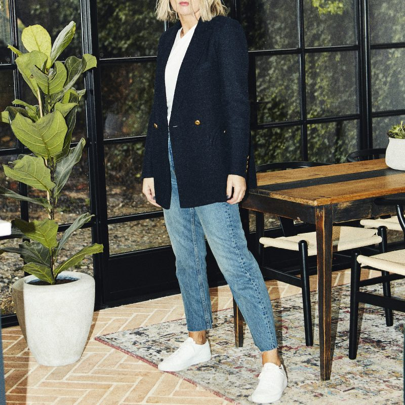 How to style a Navy Blazer on Emma Rose Style