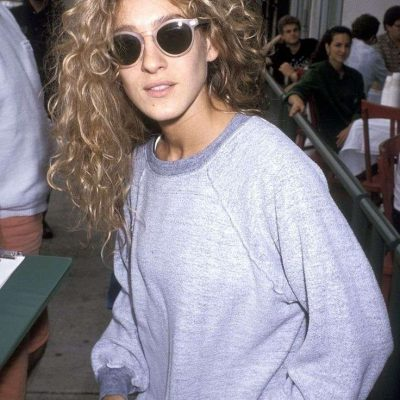 SJP GREY CREWNECK ON EMMA ROSE STYLE