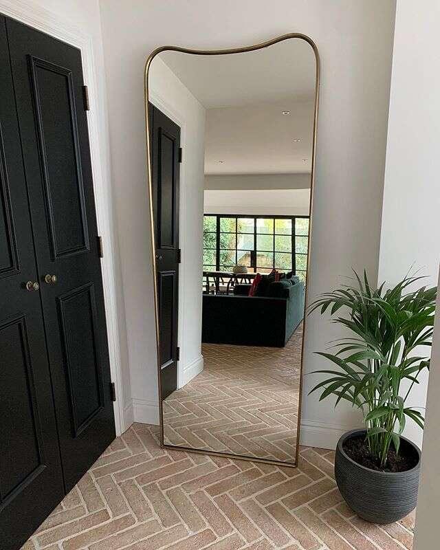 Soho Home Mirror on Emma Rose Style