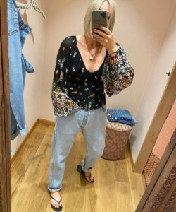 Floral Top Free People UK Emma Rose Style