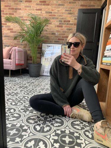 Varley Fleece on Emma Rose Style