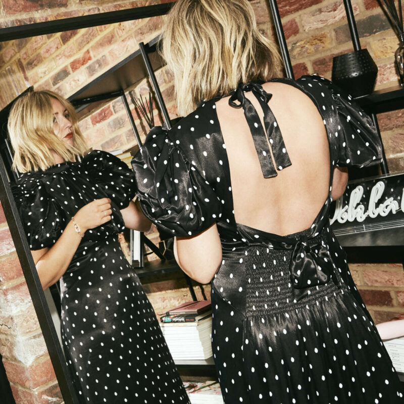 The Polka Dot Edit on Emma Rose Style
