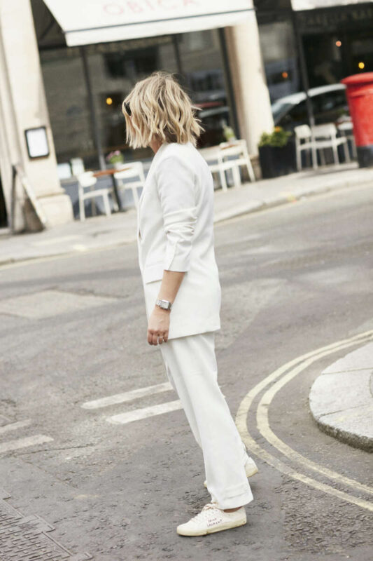 The Frankie Shop Suit on Emma Rose Style