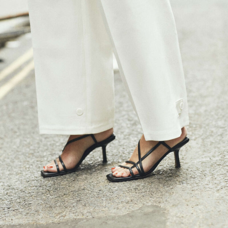 Barely There Sandals on Emma Rose Style