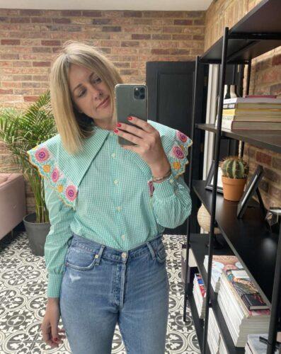 La Veste Mint Blouse Emma Rose Style