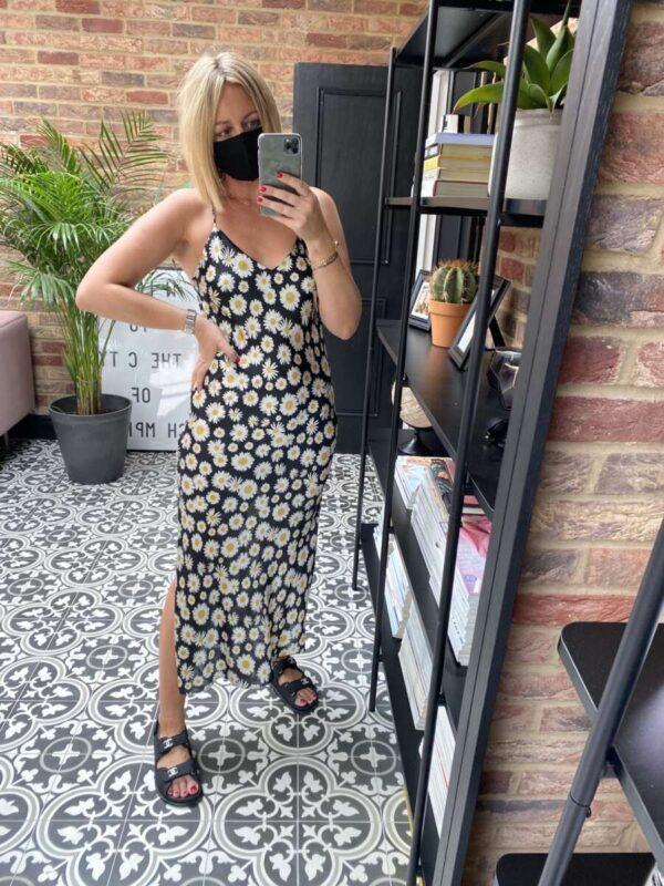 Vintage Slip Dress on Emma Rose Style