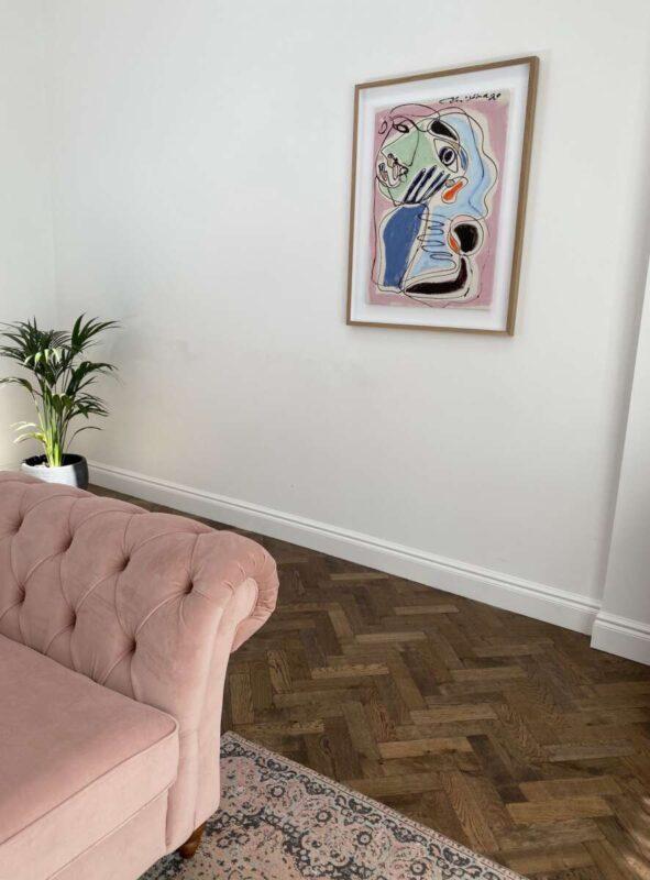 Christiane Spansbery Print on Emma Rose Style