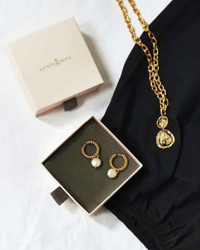 Astrid & Miyu Chunky Necklace on Emma Rose Style