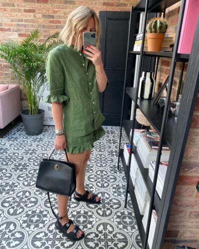 Daily Sleeper Linen Set on Emma Rose Style