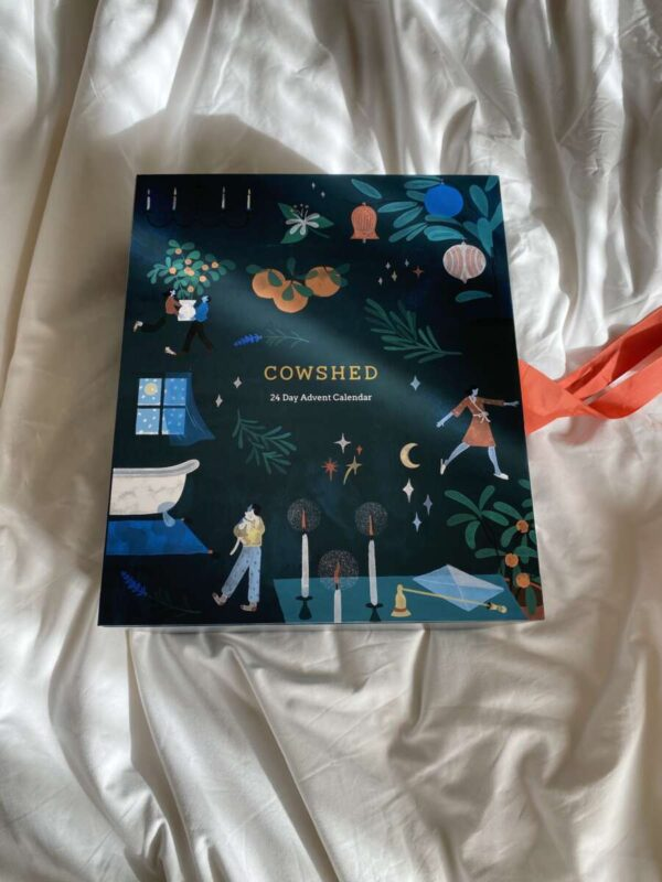Cowshed Advent Calendar on Emma Rose Style