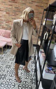 Oversized Blazer on Emma Rose Style