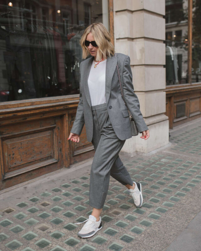Grey suit on emma rose style