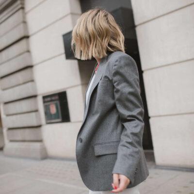 Stella McCartney Blazer on Emma Rose Style