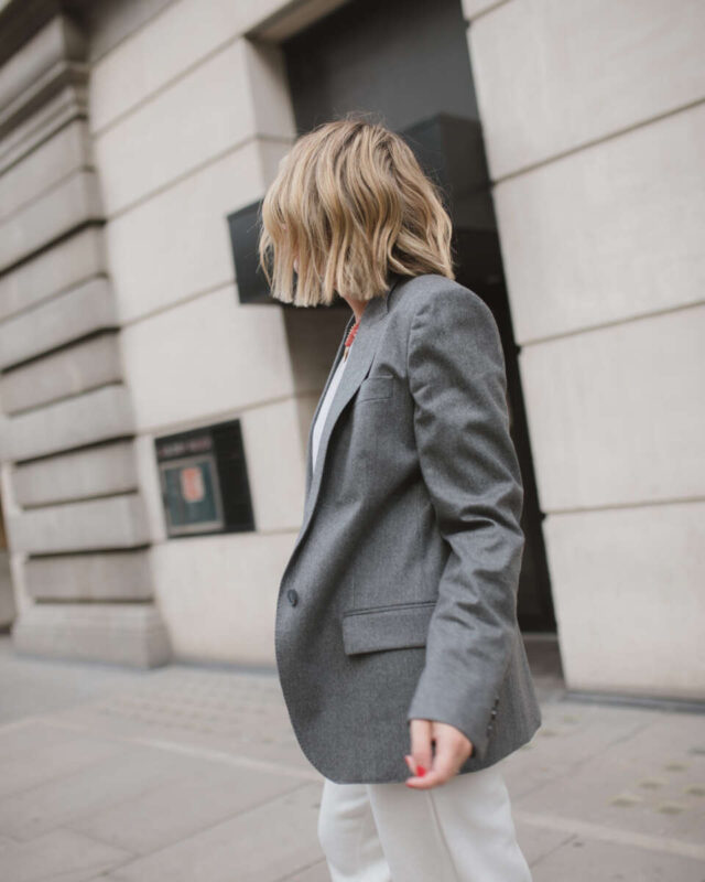 Stella McCartney Blazer on Emma Rose Style