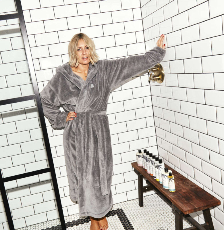 Soho Home Dressing Gown on Emma Rose Style