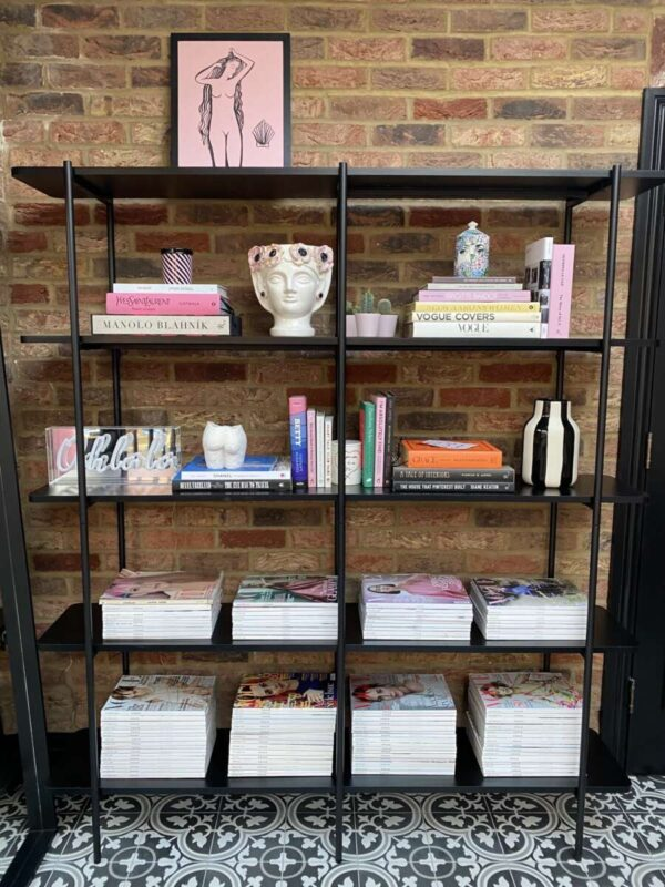 How to style shelfs on Emma Rose Style
