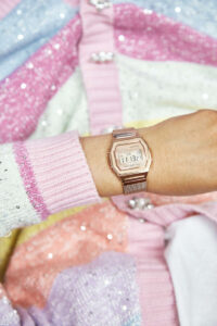Casio retro watches on Emma Rose Style