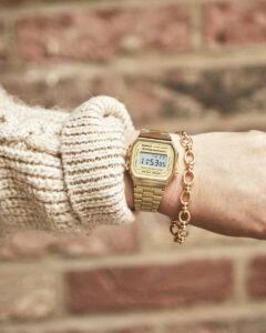 Casion Retro Watches on Emma Rose Style
