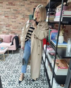 How to style a trench club on Emma Rose Style