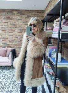 Charlotte Simone Coat on Emma Rose Style