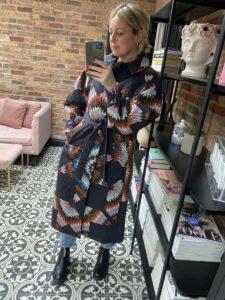 Sea Coat on Emma Rose Style