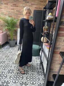 Lou Lou Studio Jumper Dress on Emma Rose Style