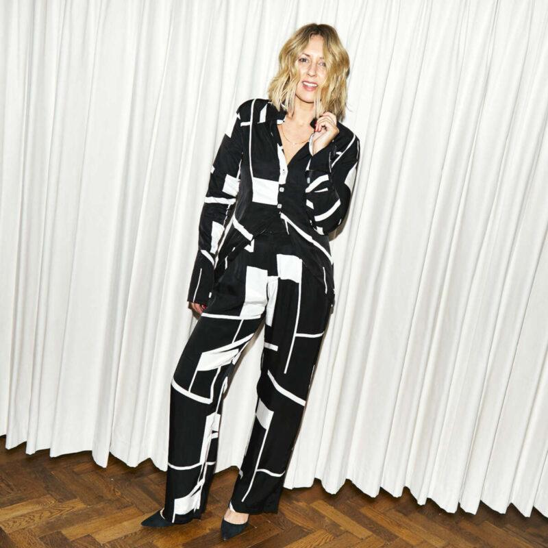 Pyjama Suit Net-a-Porter Emma rose style
