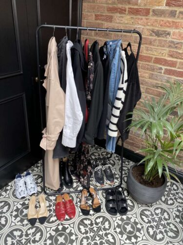 River Island Trench Coat 7 ways on Emma rose style