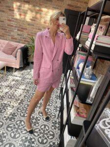 Pink Suit Amazon Fashion Emma Rose Style