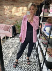 Black Joggers Amazon Fashion The Drop on Emma Rose Style