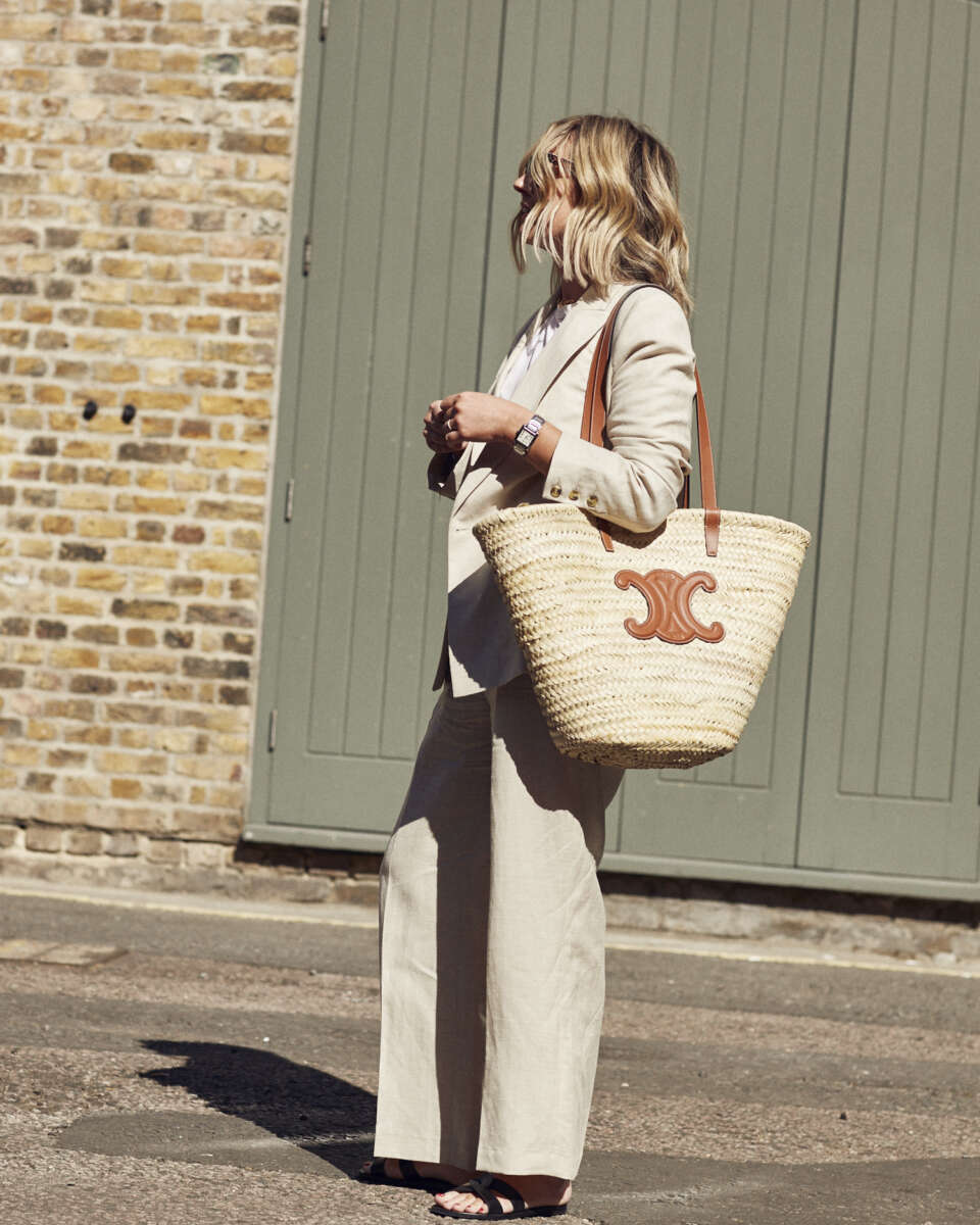 How to style basket bags on Emma Rose Style