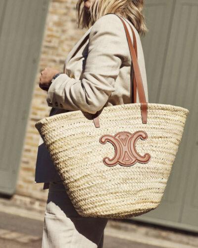 Celine Basket Bag on Emma Rose Style