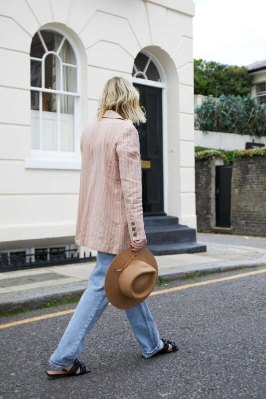 Free People Blazer on Emma Rose Style
