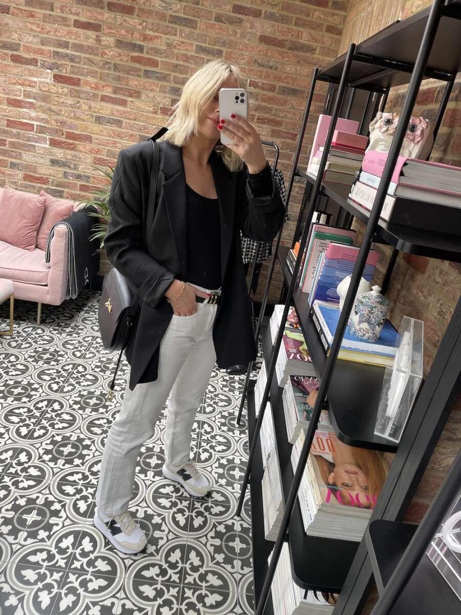 White Denim Emma Rose Style
